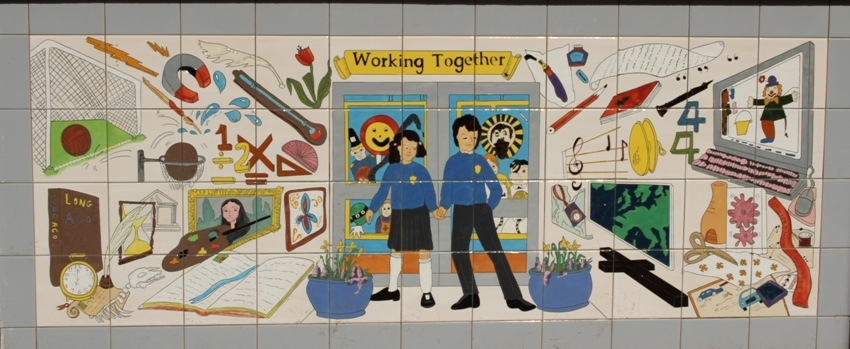 working together tile